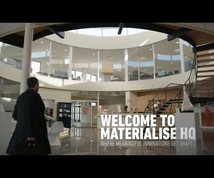 49f615a61e Materialise 3D printing factory